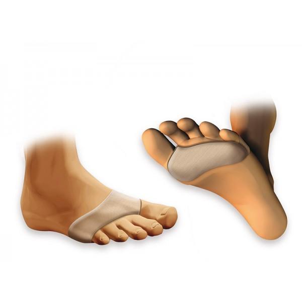 MagiDeal Bouchon Dorteil /à L/éponge Demi-pied Coussin Avant-pied Semelles Planches Toe Stopper